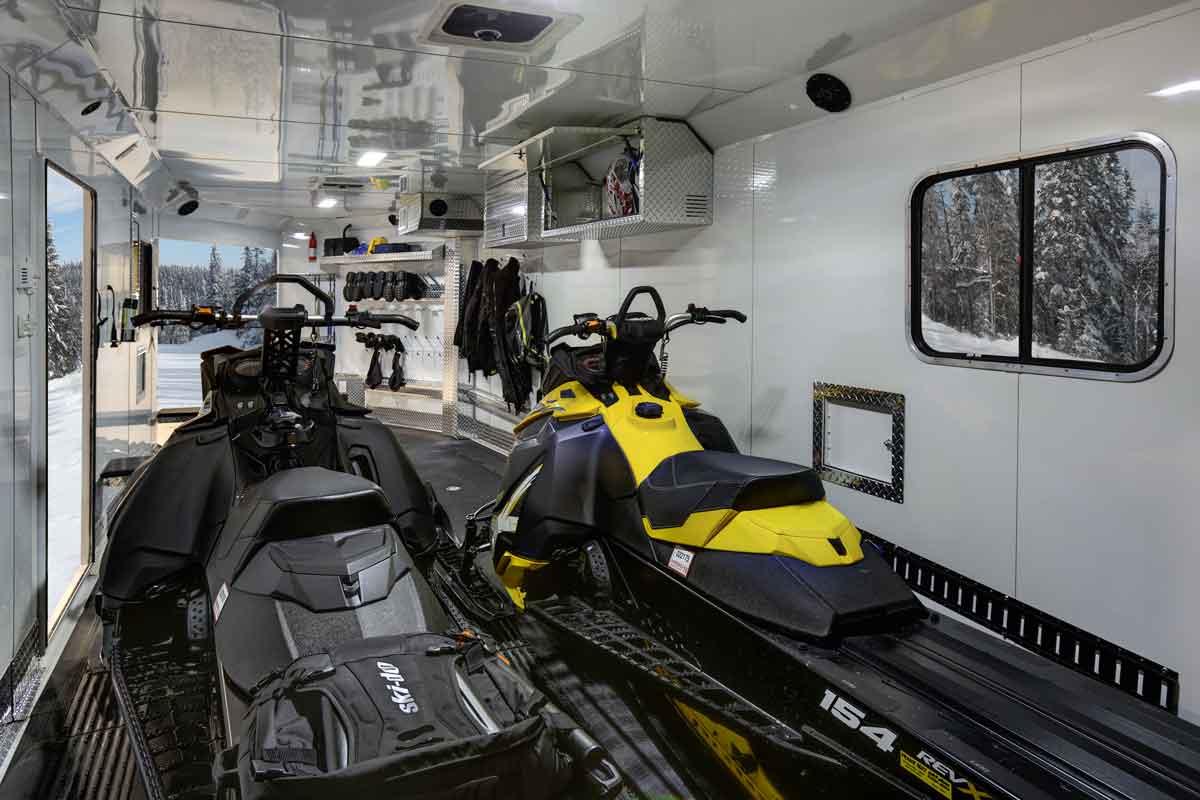Rpm Snowmobile Bumper Pull Trailer Trails West Trailers