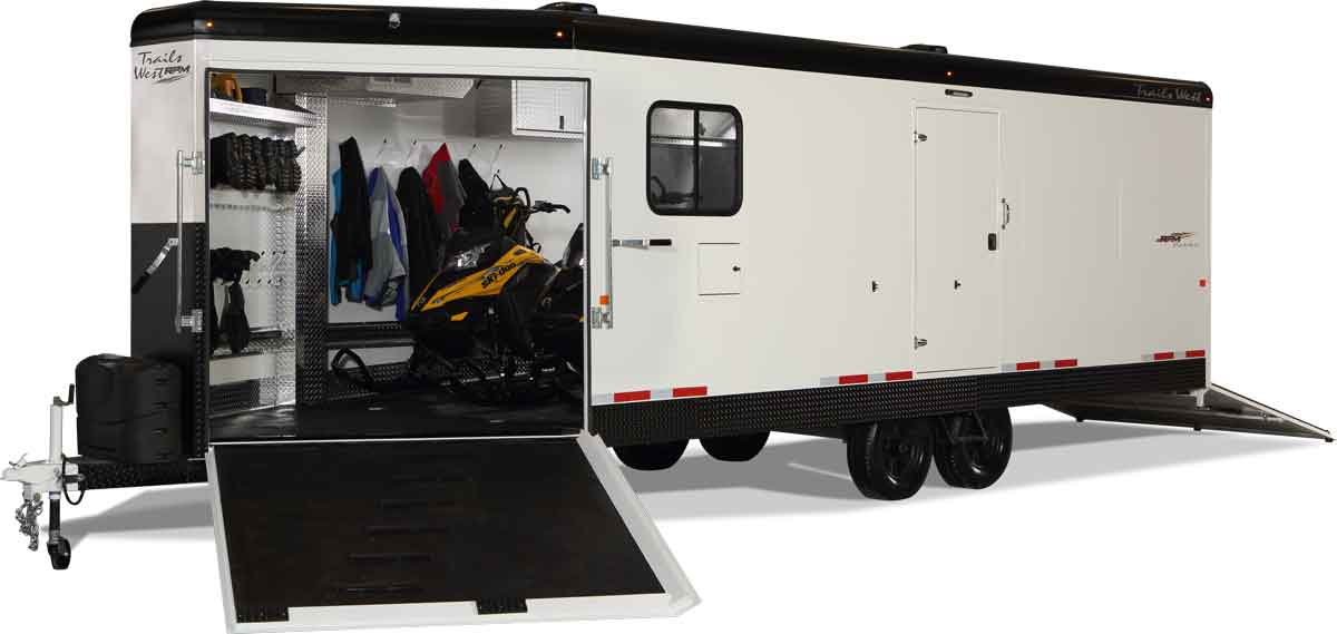 Fully Loaded RPM snowmobile trailer