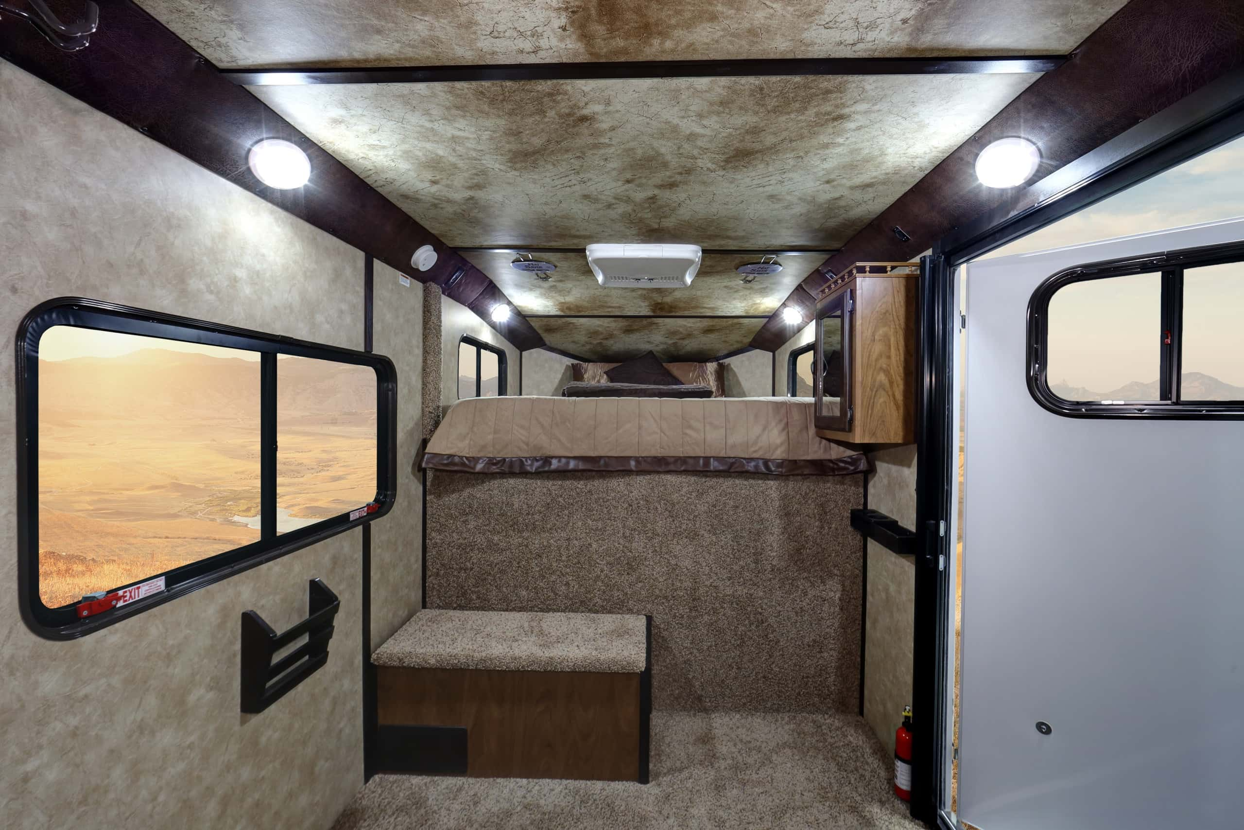 Wide shot of the luxurious Comfort Package