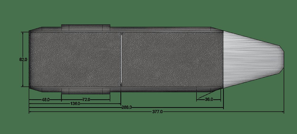 Floor Plan for 24 FT. OPEN STOCK