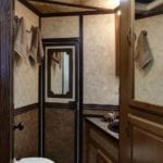 The beautifully finished bathroom