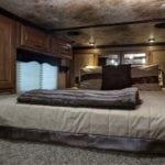 A comfortable sleeping space