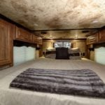 A large and luxurious sleeping space
