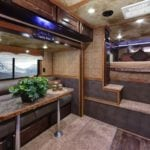 Living Quarters Trailers come loaded with features