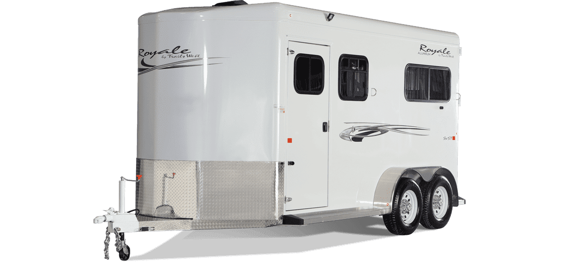 Royale Horse Trailer by Trails West Trailers