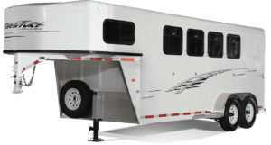 Adventure MX Gooseneck Horse Trailer by Trails West