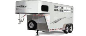 Adventure Gooseneck Horse Trailer by Trails West