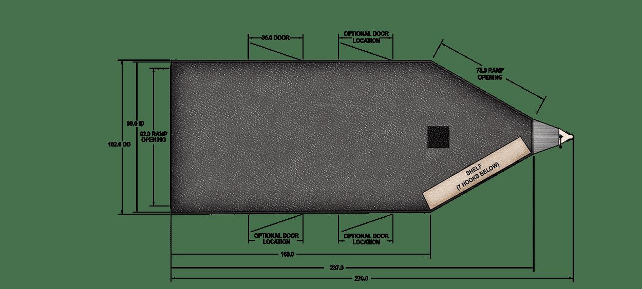 Floor Plan for RPM 20 FT. BP