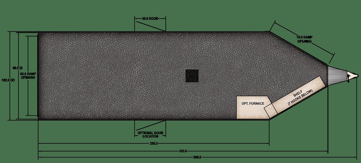 Floor Plan for RPM 28 FT. BP