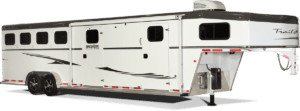 Sierra Gooseneck Horse Trailer by Trails West