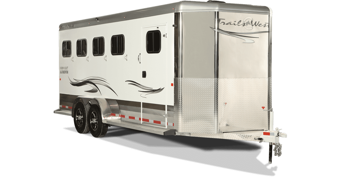 Sierra Select Horse Trailer by Trails West