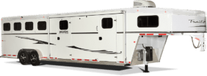 Classic Gooseneck Horse Trailer by Trails West