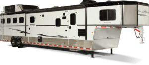 7 ft. Wide Living Quarters Horse Trailer by Trails West