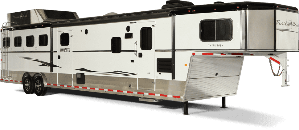 7ft Wide Living Quarters Trailers