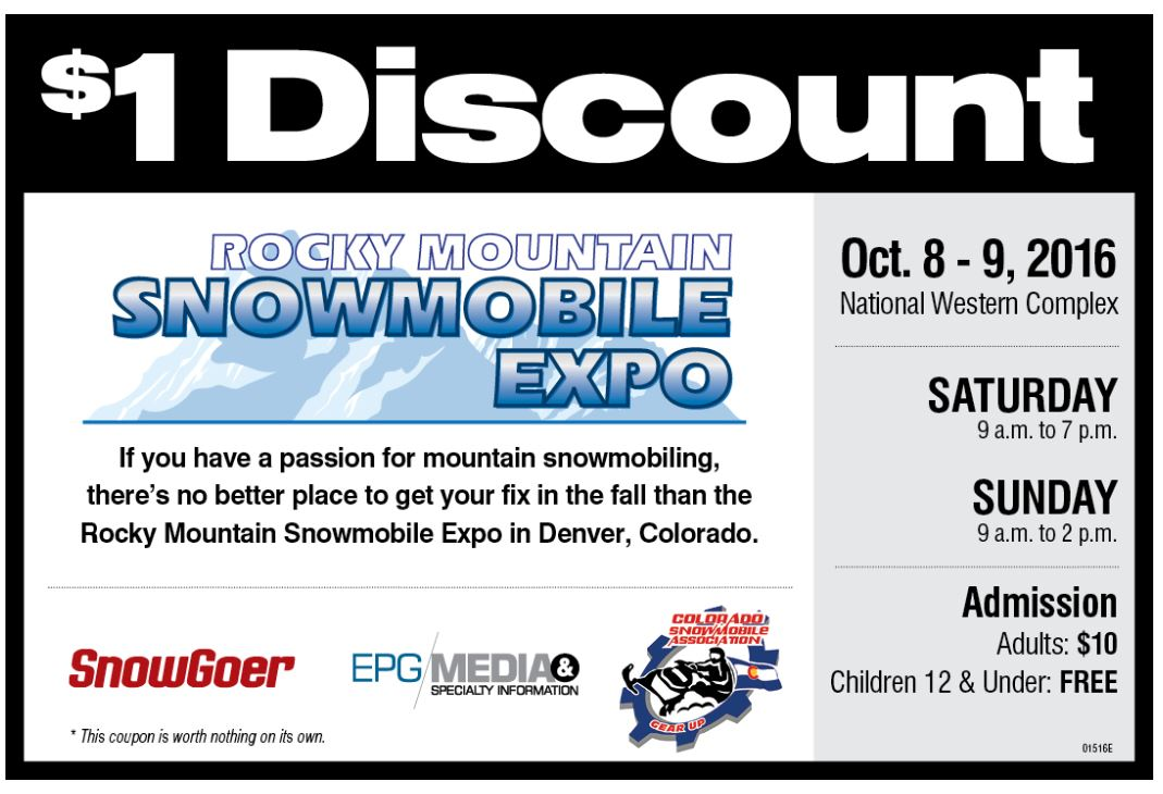 Rocky Mountain Snowmobile Expo