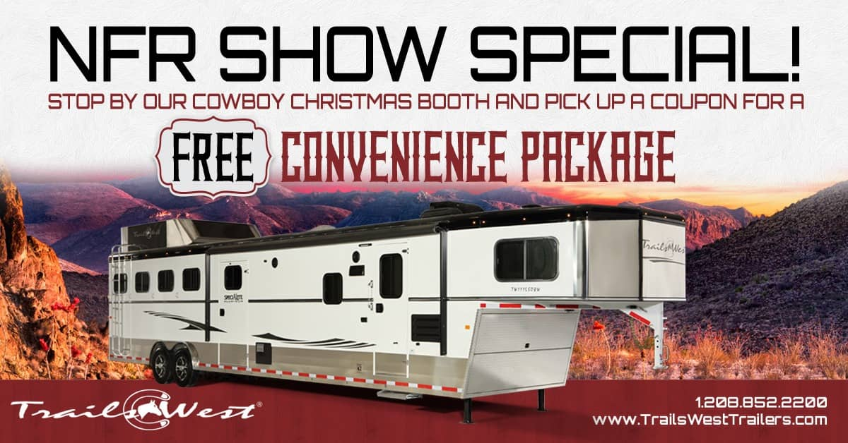 Come see us at the National Finals Rodeo!