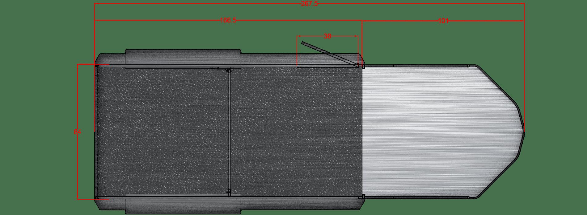 Santa Fe 14′, 6000# axles 16″ LRE Gooseneck