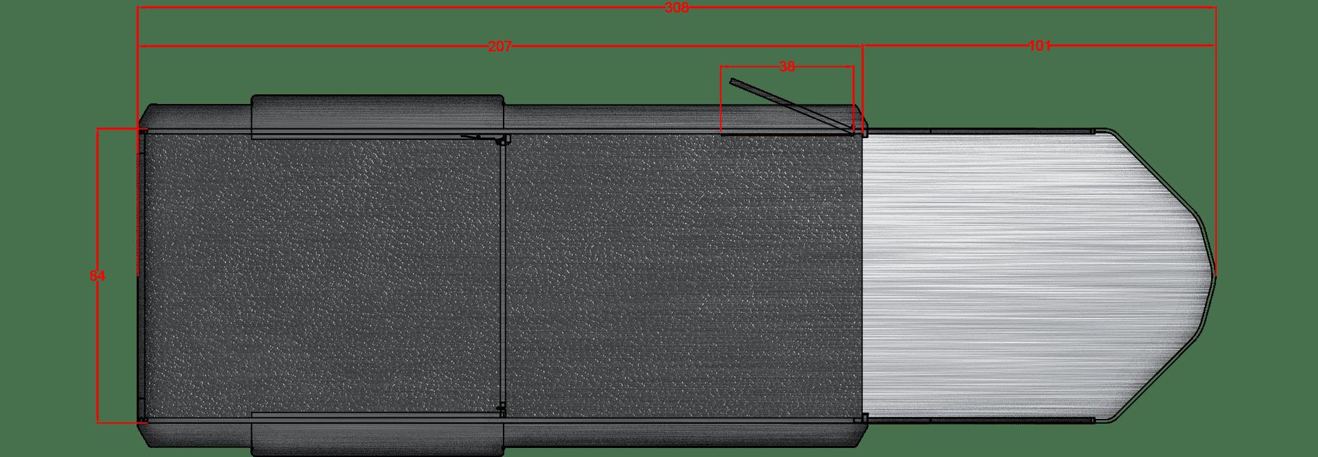 Santa Fe 17′, 6000# axles 16″ LRE Gooseneck