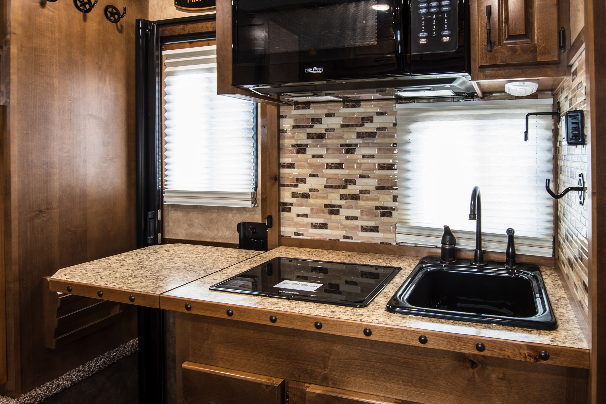 Kitchen Area - Standard Package - Living Quarters Horse Trailer