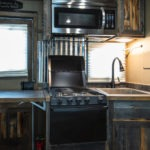Kitchen Area - Elkhorn Package - Living Quarters Horse Trailer