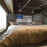 Sleeping Area - Elkhorn Package - Living Quarters Horse Trailer