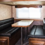 Dining Area - Standard Package - Living Quarters Horse Trailer