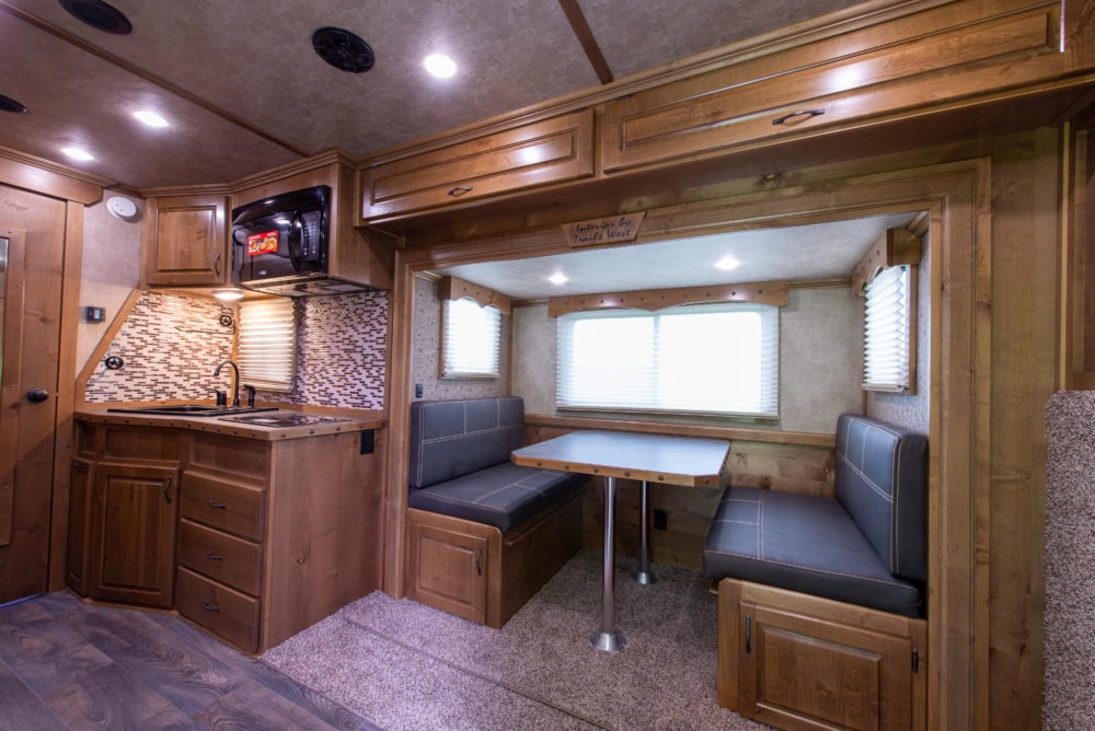 Living Quarters Horse Trailer Interior