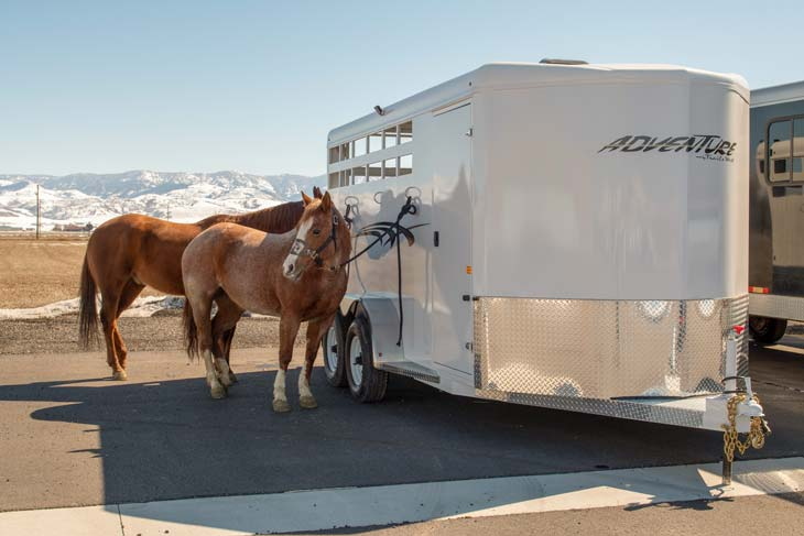 Tips for Hauling a Horse Trailer Safely in Bad Weather