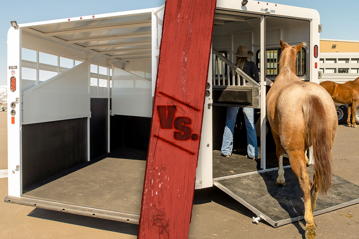 Horse Trailers: Ramp vs. Step-Up Styles